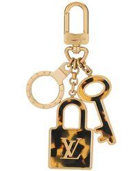 Louis Vuitton Подвеска Для Сумки Porte Cles Confidence 2012-го Года Pre-owned - Металлик