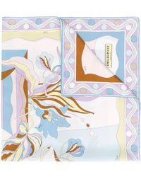 Emilio Pucci - Платок С Цветочным Принтом - Lyst