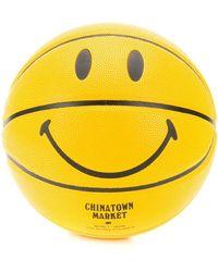 Chinatown Market Giallo Smiley Face バスケットボール - イエロー