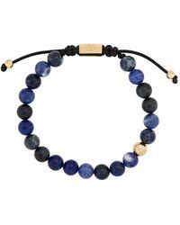 Northskull Bracciale con perline - Blu
