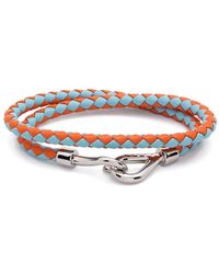 Marni Braided Wraparound Bracelet - Blue