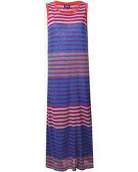 Woolrich ストライプ ドレス - ブルー