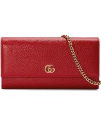 Gucci - GGマーモント財布 - Lyst
