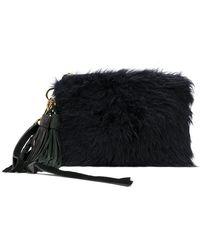 Sacai - Fluffy Clutch Bag - Lyst