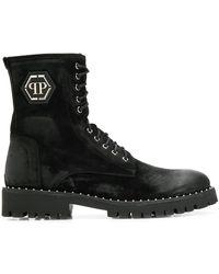 Philipp Plein Ботинки С Логотипом - Черный