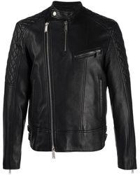 DSquared² Байкерская Куртка На Молнии - Черный