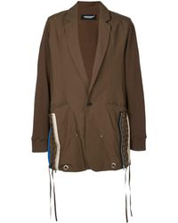 Undercover - Lace-up Side Parka Coat - Lyst