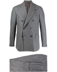 Gabriele Pasini Double-breasted two-piece suit - Gris