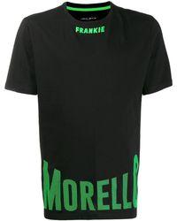 Frankie Morello ロゴ Tシャツ - ブラック