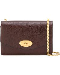 Mulberry Chain Strap Crossbody Bag - Rood