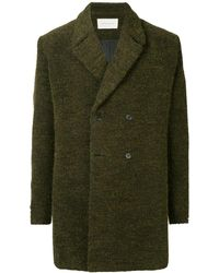Strateas Carlucci Boxy Fit Short Coat - Gray