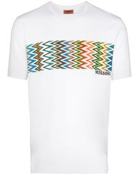 Missoni - パターン Tシャツ - Lyst