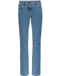Palm Angels Straight Jeans - Blauw