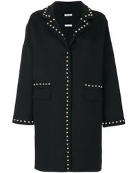 P.A.R.O.S.H. | Studded Coat | Lyst