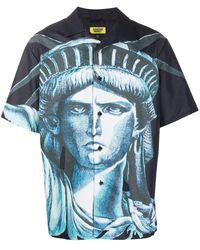 Chinatown Market Liberty Print Shirt - Black