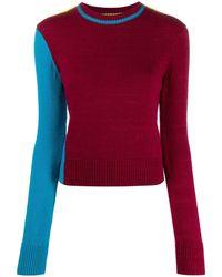 Victoria Beckham カラーブロック セーター - ピンク