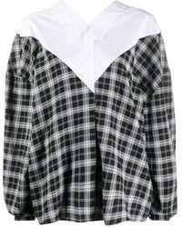 Unravel Project オーバーサイズ シャツ - ブラック