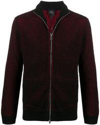 Armani Exchange パターン スウェットシャツ - ブラック