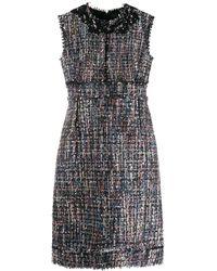 Giambattista Valli Mouwloze Mini-jurk - Zwart