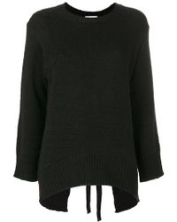 Dondup - Thick Ribbed Pullover - Lyst