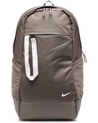 Nike Sac à dos à logo imprimé - Marron