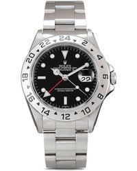 Rolex Наручные Часы Explorer Ii Pre-owned 40 Мм 1998-го Года - Черный