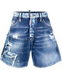 Pantalones Cortos Dsquared De Hombre Hasta El 71 De Descuento En Lyst Es