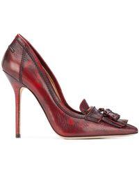 DSquared² Fringed Court Shoes - Multicolour