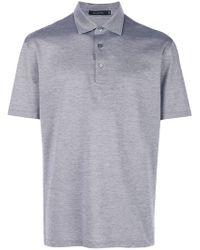 Ermenegildo Zegna - Shortsleeved Polo Shirt - Lyst