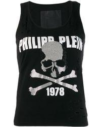 Philipp Plein - Destroyed Tank Top - Lyst