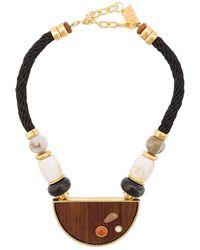 Lizzie Fortunato Noble Surfer Ii Necklace - Black