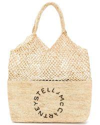 Stella McCartney Großer Shopper - Natur