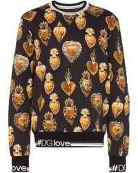 Dolce & Gabbana - Sacred Heart スウェットシャツ - Lyst