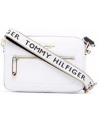 Tommy Hilfiger Iconic ショルダーバッグ - ホワイト