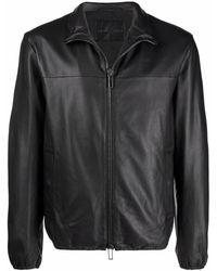 Emporio Armani Jackets Black