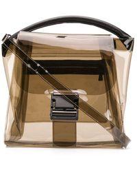 Zucca Transparent Tote Bag - Multicolour