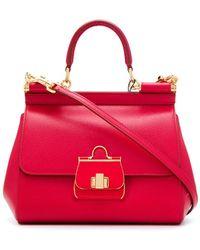 Dolce & Gabbana Sicily ハンドバッグ S - レッド