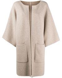Liska Open Front Cardi-coat - Multicolor