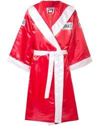 Supreme X Everlast Satin Boxing Robe - Red