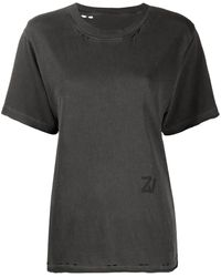 Zadig & Voltaire Bowie Tシャツ - グレー