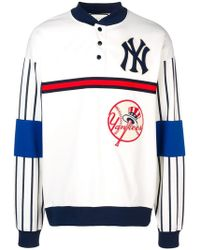 Gucci Sweatshirt With New York Yankees Patchtm - White