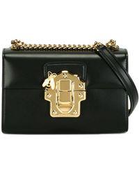 Dolce & Gabbana Borsa a spalla Lucia - Nero