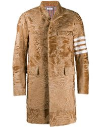 Thom Browne Chesterfield Classic Overcoat - Brown