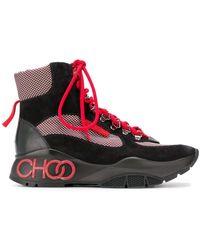Jimmy Choo Inca/f High-top Sneakers - Zwart
