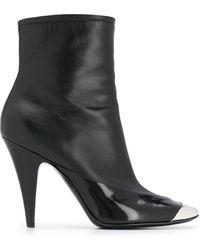 Emilio Pucci スクエアトゥ ブーツ - ブラック