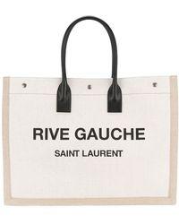 Saint Laurent Rive Gauche-logo Draagtas - Meerkleurig