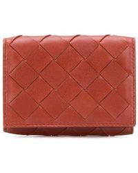 Bottega Veneta - イントレチャート 三つ折り財布 - Lyst