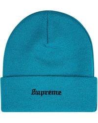 Supreme Gorro 8-Ball - Azul