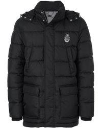 Billionaire - Hooded Puffer Jacket - Lyst