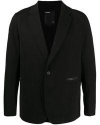 Attachment シングルジャケット - ブラック
